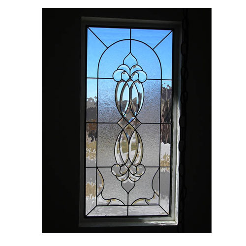 Traditional Stained Door Glass