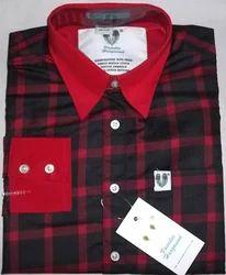 Red Checks Executive Shirts