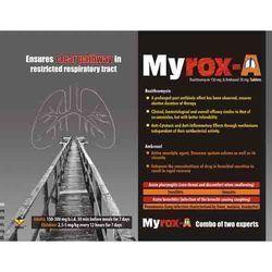 Roxithromycin 150 Mg & Ambroxol 30 Mg Tablets
