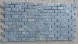 Silver Grey Slate Stone Mosaic Tiles