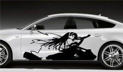 Manga Car Vinyl Decals Car Vinyls Pondha Dehradun Vicky - Vinyl decals car