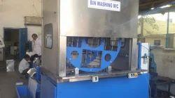 Rotary Tray & Bin Cleaning Machine