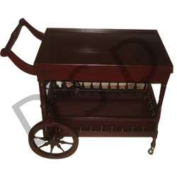 Dinning Room Furniture Wheel Tea Trolley Manufacturer