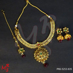 South Indian Metal Jewelry