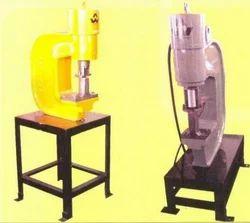 Plate Punching Machine, 500-1000 Per Hour, Semi Automatic