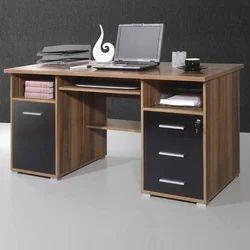 Denovo Brown Designer Computer Table, For Corporate Office