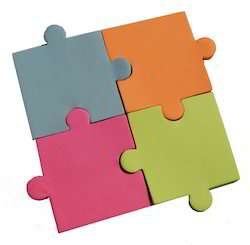 Jigsaw Shape Sticky Notes