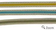 Abro Black Polyester Multicolor Tape