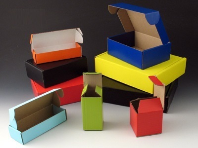 Corrugated Colour Packaging Box