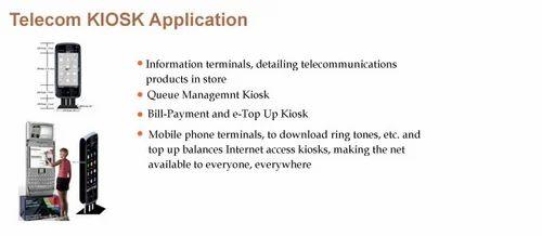 Telecom kiosk Application - Telecom Kiosk Application