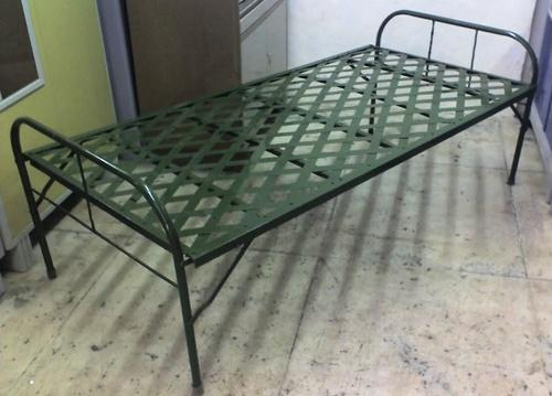 Black Iron Folding Bed Size 6 X 2 5 Feet Rs 3000 Piece