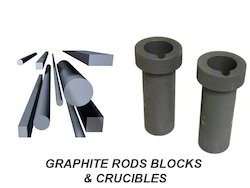 Graphite Rods Blocks and Crucibles