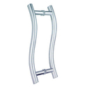 S Shape Glass Door Handles