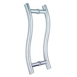 S Shape Glass Door Handles