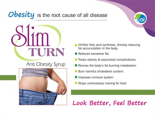 Slim Turn Syrup & Tablet, Common Disease Medicines   Jai