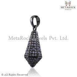 Pave Diamond Designer Pendant
