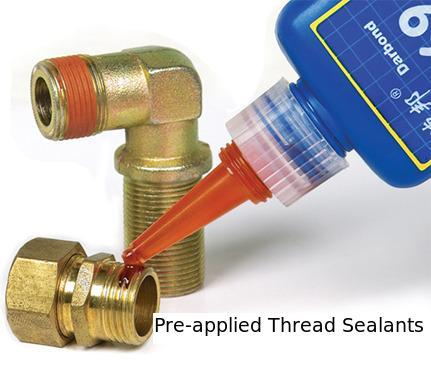 Pre-Applied Thread Sealants