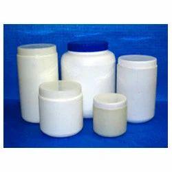 Plastic HDPE Round Jars