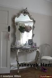 Silver Mirror Frame