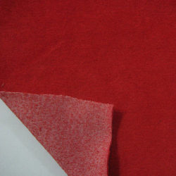 Cotton Velour Double Dye Fabric