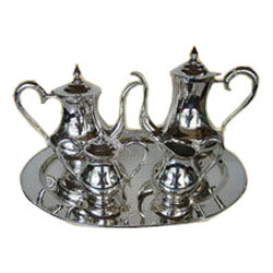 Silver Plated Tea Set  sc 1 st  IndiaMART & Silver Plated Tea Set in Moradabad Uttar Pradesh | Chandi Jadit ...