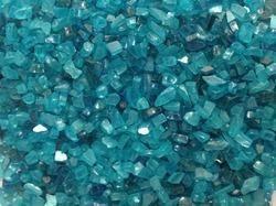 Blue Glass Pebbles