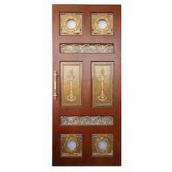 Design Copper Pooja Door