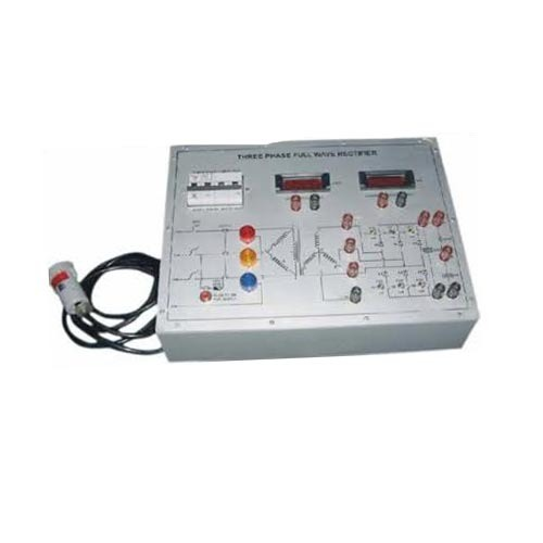 Power Electronics Lab Trainers Three Phase Rectifier Manufacturer From Jaipur