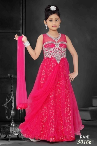 Baby Party Gowns, Baby Gowns   Ghaziabad   Dilisha Dresses   ID ...