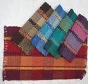 Rectangular Cotton Textured Door Rug, Size: 60x90 Cm