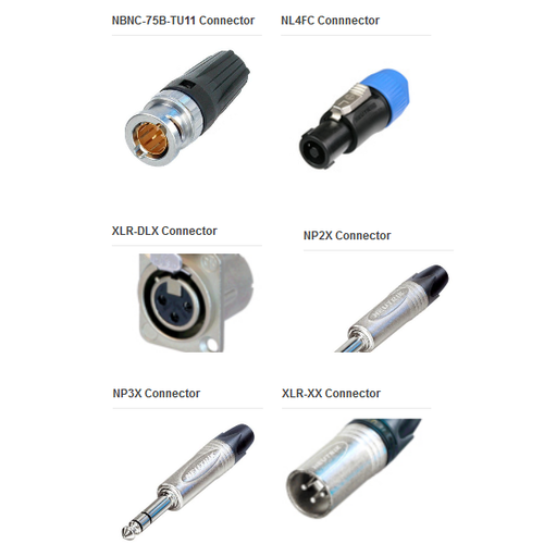 Electronic Connectors (Neutrik)