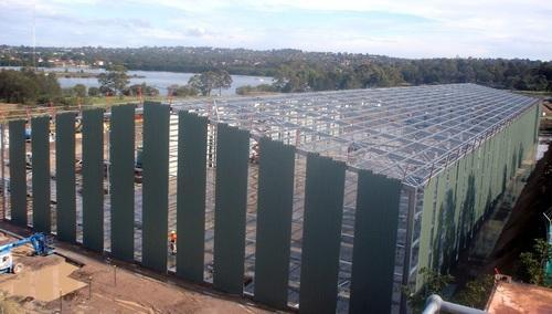 Aluminium Steel Sheds Fabrication Services