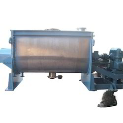 Horizontal Ribbon Blender