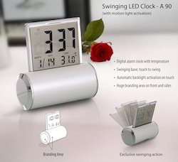 Swinging Clock