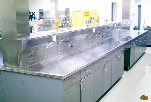 Exceptional Stainless Steel Laboratory Table