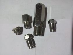 Stainless Steel Hydraulic Fittings, Size: 1/4 inch-1 inch, 1 inch-2 inch, 2 inch-3 inch, Thread Size: 1/4 inch