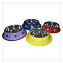 Anti Skid Colored Dog Bowls