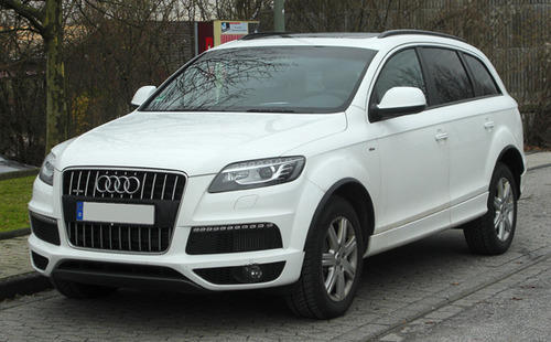 Audi Q7 Luxury Car Rental Service Green Land Travels Kochi Id