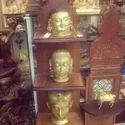 Brass Mukteshwar Heads Statues