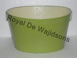 Oval Tub Green