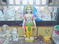 Marble Vishnu Statue
