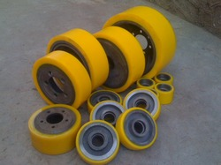 Stacker Castor Side Support Stabilizer Wheels