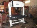 Harison Four Column Type Semi-automatic Workshop Machine, Capacity: 25 Ton