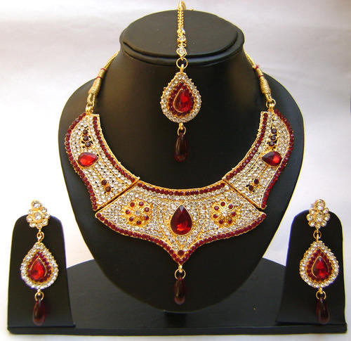Gold Kundan Necklace Sets With Price