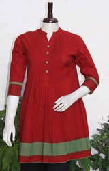 Cotton Block Printed Kurti