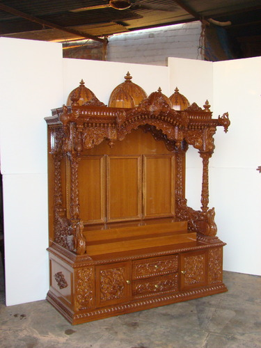 Wooden Temple Manufacturer From Vadodara