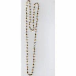 Nickel Plated Beaded Chain