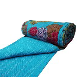 Indian Kantha Printed Quilts