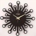 Carat Brown Wall Clock