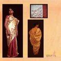 Designer Hand Painted Sarees